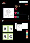同韻字 Advent calendar 2019 - 中文字 東